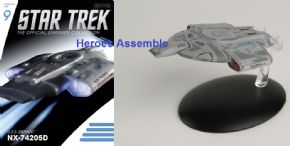 Star Trek Official Starships Collection #009 USS Defiant NX-74205D Eaglemoss